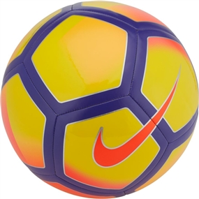 Nike Pitch Soccer Ball (Yellow/Purple/Pink)