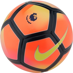 Nike Premier League Pitch Soccer Ball (Crimson/Hyper Pink/Obsidian/Volt)