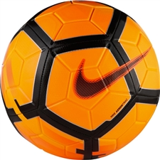 Nike Strike Soccer Ball (Total Orange/Hyper Crimson/Black)