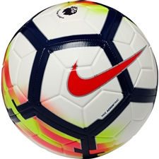 Nike Premier League Strike Soccer Ball (White/Crimson/Deep Royal)