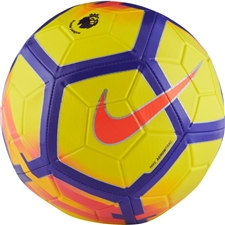 Nike Premier League Strike Soccer Ball (Yellow/Purple/Crimson)