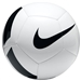 Nike Pitch Team Soccer Ball (White/Black)
