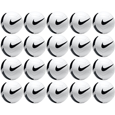 Nike Pitch Team Soccer Ball 20 Pack (White/Black)