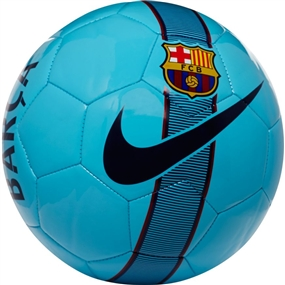 Nike Barcelona Supporters Soccer Ball (Polarized Blue/Noble Red/Deep Royal Blue)