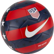 Nike USA Prestige Soccer Ball (University Red/Midnight Navy/White)
