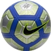 Nike Neymar Strike Soccer Ball (Chrome/Volt/Racer Blue/Black)
