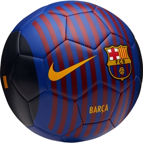 Nike FC Barcelona Prestige Soccer Ball (Deep Royal Blue/University Gold)