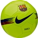Nike FC Barcelona Supporters Soccer Ball (Volt/Noble Red/Deep Royal Blue)