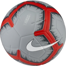 Nike Strike Soccer Ball (Pure Platinum/Wolf Grey/White)