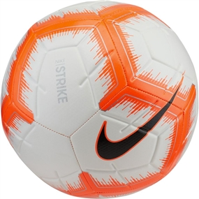 Nike Strike Soccer Ball (White/Hyper Crimson/Black)