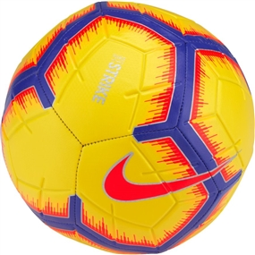 Nike Strike Soccer Ball (Yellow/Purple/Flash Crimson)
