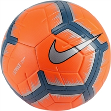 Nike Strike Soccer Ball (Hyper Crimson/Metallic Silver)