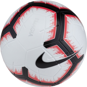 Nike Magia Soccer Ball (White/Bright Crimson/Black)