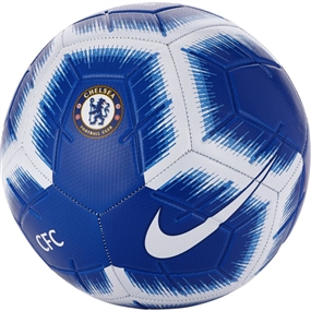 Nike Chelsea FC Strike Soccer Ball (Rush Blue/White/Blue)