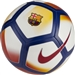 Nike FC Barcelona Pitch Soccer Ball (White/Noble Red/University Gold)