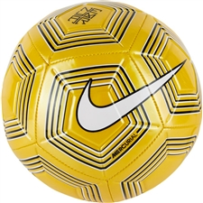 Nike Neymar Strike Soccer Ball (Amarillo/White/Black)