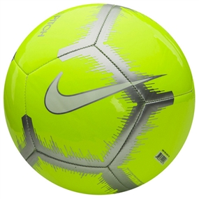 Nike Pitch Event Pack Soccer Ball (Volt/Chrome/White)