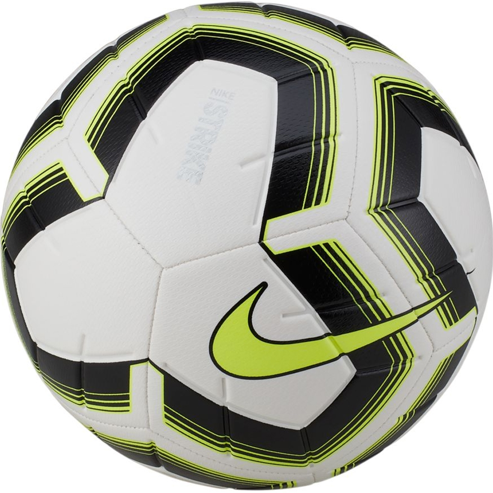 117352f7717 Nike Strike Team Soccer Ball (White/Black/Volt) | Nike Soccer Balls ...
