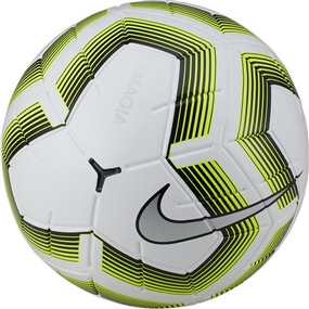 Nike Team NFHS Magia II Soccer Ball (White/Black/Volt)