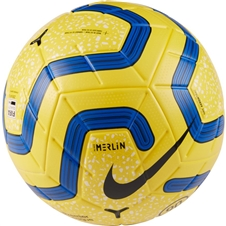 Nike Premier League Merlin Soccer Ball (Yellow/Blue/Black)