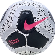 Nike Premier League Strike Soccer Ball (White/Black/Racer Pink)
