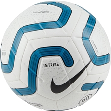 Nike Premier League Strike Soccer Ball (White/Blue/Black)