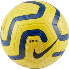 Nike Premier League Strike Soccer Ball (Yellow/Blue/Black)