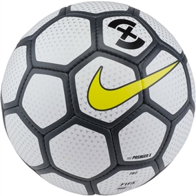 Nike Premier X Futsal Ball (White/Anthracite/Opti Yellow)
