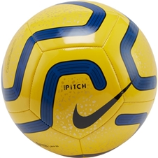 Nike Premier League Pitch Soccer Ball (Yellow/Blue/Black)