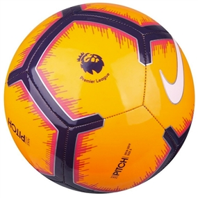 Nike Premier League Pitch Soccer Ball (Laser Orange/Purple/Red/White)