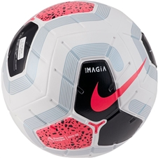 Nike Premier League Magia Soccer Ball (White/Black/Cool Grey/Racer Pink)