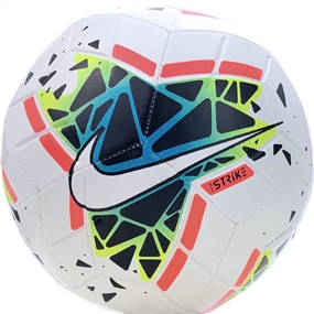 Nike Strike Soccer Ball (White/Obsidian/Blue Fury)