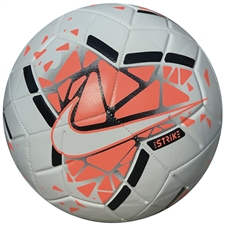 Nike Strike Soccer Ball (White/Bright Mango/Black)