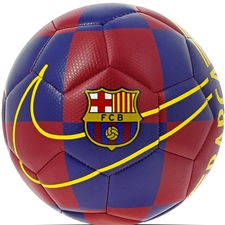 Nike FC Barcelona Prestige Soccer Ball '19 (Deep Royal Blue/University Gold)