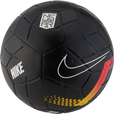 Nike Neymar Strike Soccer Ball (Black/Chrome Yellow/Red Orbit)