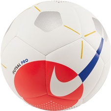 Nike Pro Futsal Ball (White/Bright Crimson/Racer Blue)
