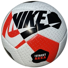 Nike Street Akka Ball (White/Bright Crimson/Black)
