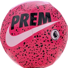 Nike Premier League Pitch Soccer Ball (Racer Pink/Black/White)