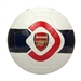 Puma Arsenal Fan Ball 2 Soccer Ball (White/Estate Blue/Red)
