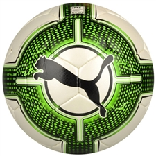 Puma evoPOWER 4.3 Club (IMS) Soccer Ball (Puma White/Green Gecko/Puma Black)