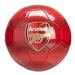 Puma Arsenal Stripe Soccer Ball (Red)