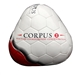 Corpus Training Corpus II Youth Soccer Ball (White/Red)