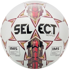 Select Royale 2017 Soccer Ball (White/Maroon)