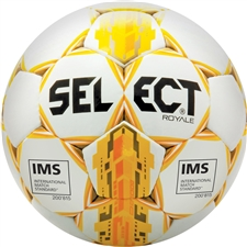 Select Royale 2017 Soccer Ball (White/Yellow)