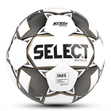 Select Royale Soccer Ball (White/Black)