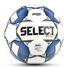 Select Royale Soccer Ball (White/Blue)