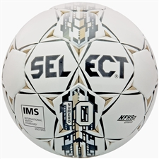 Select Numero 10 Soccer Ball (White/Black/Gold)