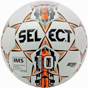 Select Numero 10 Soccer Ball (White/Orange)