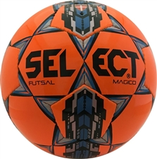 Select Magico Futsal Ball (Orange/Silver/Blue)