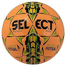 Select Jinga Futsal Ball (Orange/Green/Yellow)